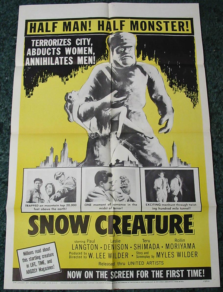 snowcreature_poster