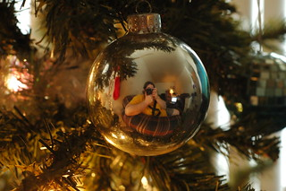 Self Portrait Christmas Ball