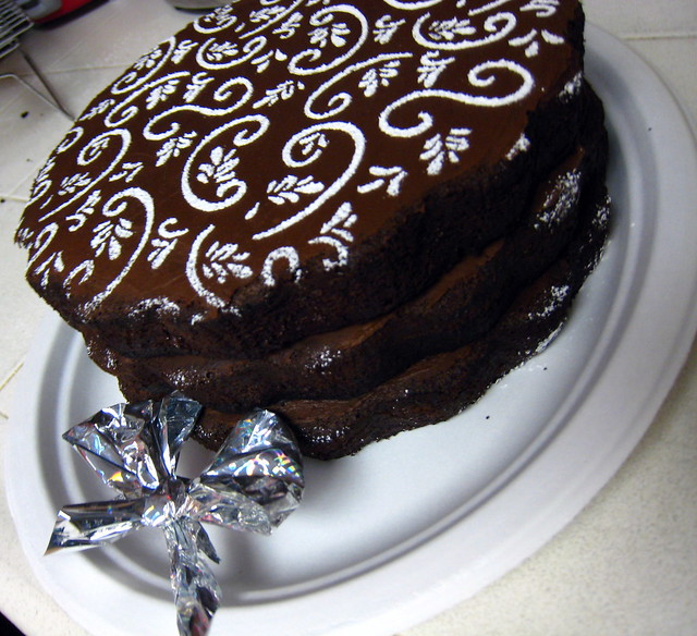 Chocolate Bourbon Cake | i have to admit i am damn proud of ...