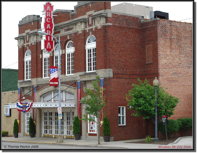 Arcadia Theater, Windber PA   This is a staple in Windber ...