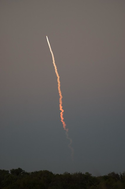 space shuttle launch viewed from sarasota, fl | Flickr ...