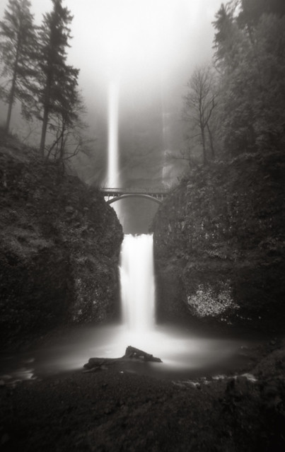 Multnomah Falls, 120 seconds