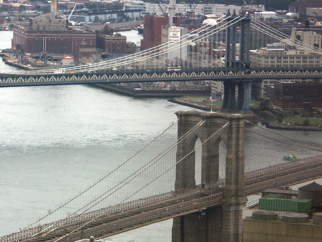 Bridges below