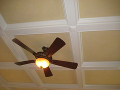 floor(0.0), daylighting(0.0), room(1.0), molding(1.0), ceiling fan(1.0), ceiling(1.0), mechanical fan(1.0), lighting(1.0),