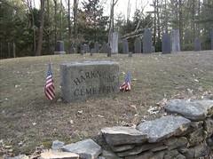 Harkness Cemetery, Pelham Mass