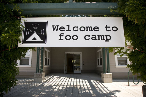 Welcome to foo camp | by linoleum jet