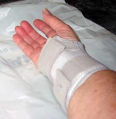 Granny Bird's wrist splint (1 of 3)