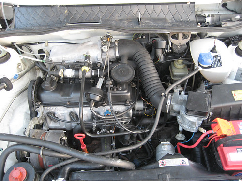 Engine Bay, After Repairs