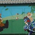 Shed Painting - Xinjiang, China
