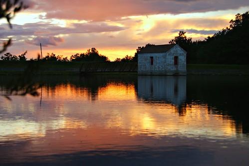 sunset reflection photography pennsylvania sony reservoir pa series 300 alpha dslr 2008 silvermedal dunmore a300 α dslra300 α300 dslra300k αlpha dslrα300 dslrα300k