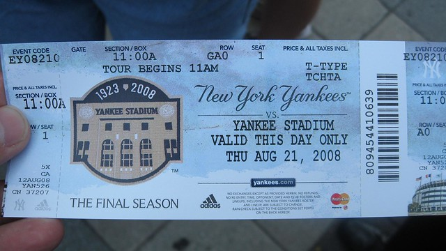 Yankees tickets coupons