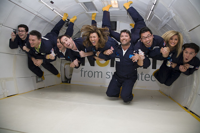 Zero Gravity Flight!