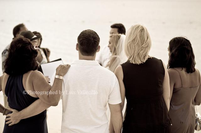 Beach wedding illustrations