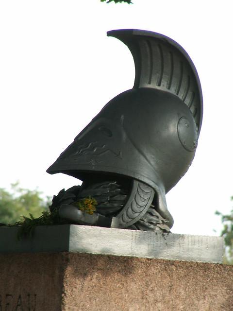 Moreau Denkmal enthelmt der Sieger des Gefallnen Haupt