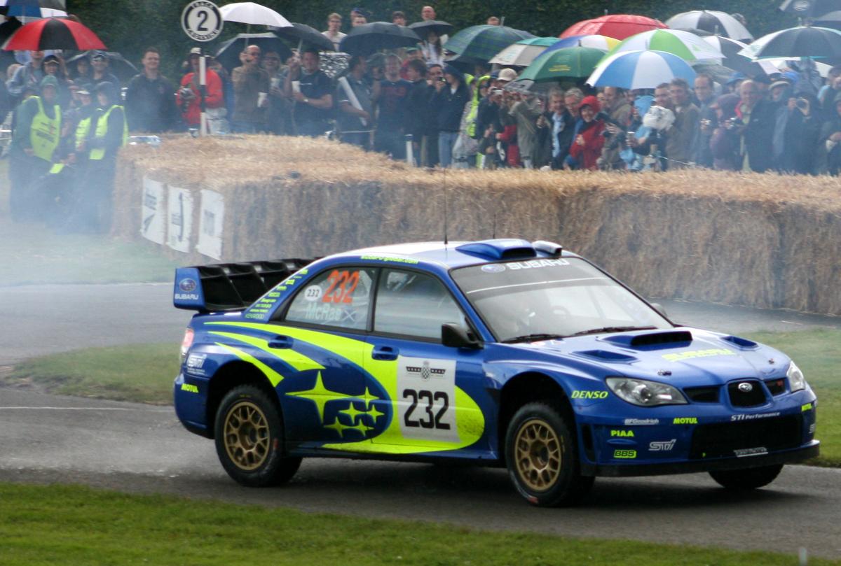 Colin Mcrae In A Subaru Impreza Wrc A Photo On Flickriver