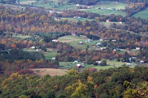 park autumn trees fall virginia national shenandoah overlook