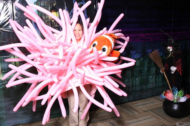 My 2008 Halloween Costume I Was A Sea Anemone With
