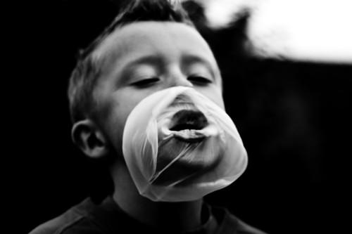 bubble boy.