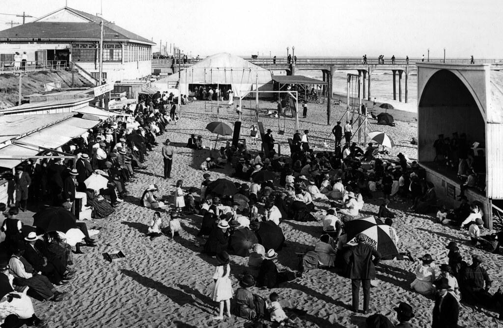 Huntington Beach Pier, circa 1920s
