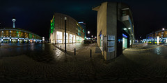 Alexanderplatz at night