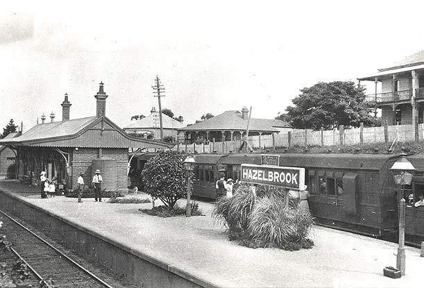 Railway Station - Hazelbrook