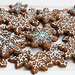 Gingerbread Snowflakes by Glorious Treats