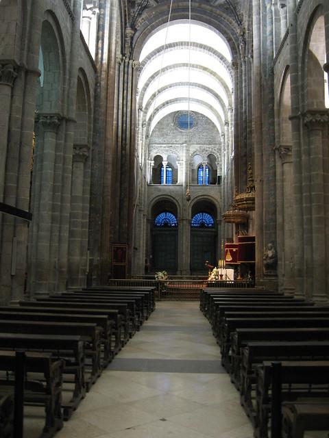 Interior de la catedral de santiago de compostela - Interior santiago de compostela ...