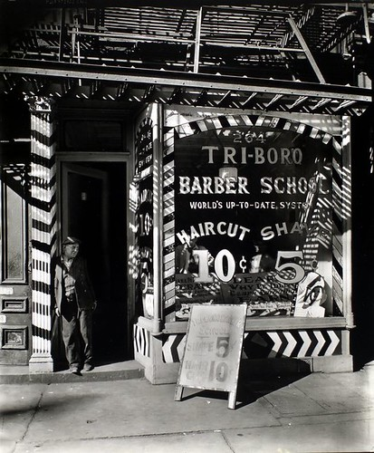 Tri-boro Barber School, 264 Bowery, Manhattan.