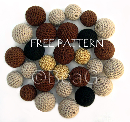 Pattern for Crocheted Beads (Patroon voor Gehaakte Kralen) Flickr ...