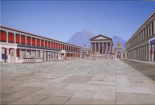 Pompeii Forum reconstruction 2