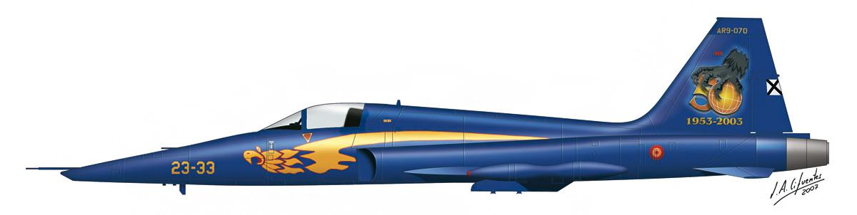 RF-5A Aniversario
