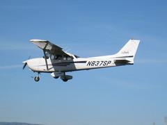 aviation, airplane, propeller driven aircraft, vehicle, turboprop, cessna 172, flight, aircraft engine,