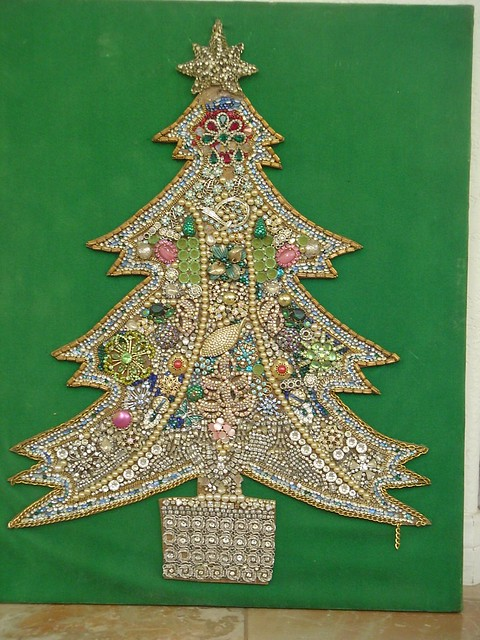 Costume Jewerly Christmas Tree Craft