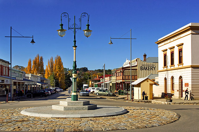 Beechworth Victoria Australia Corner Ford And Camp Stre Flickr Photo Sharing