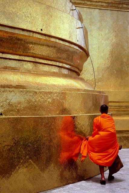 Thailand - Bangkok - Grand Palace Monk