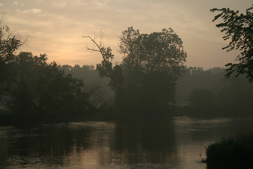 park trip morning home water misty sunrise river michigan bank visit berriensprings stjosephriver southwesternmichigan