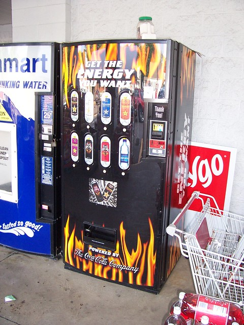 energy drink machine