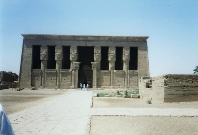Temple of Hathor, Dendera.