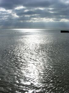 Littlehampton Beach at low tide