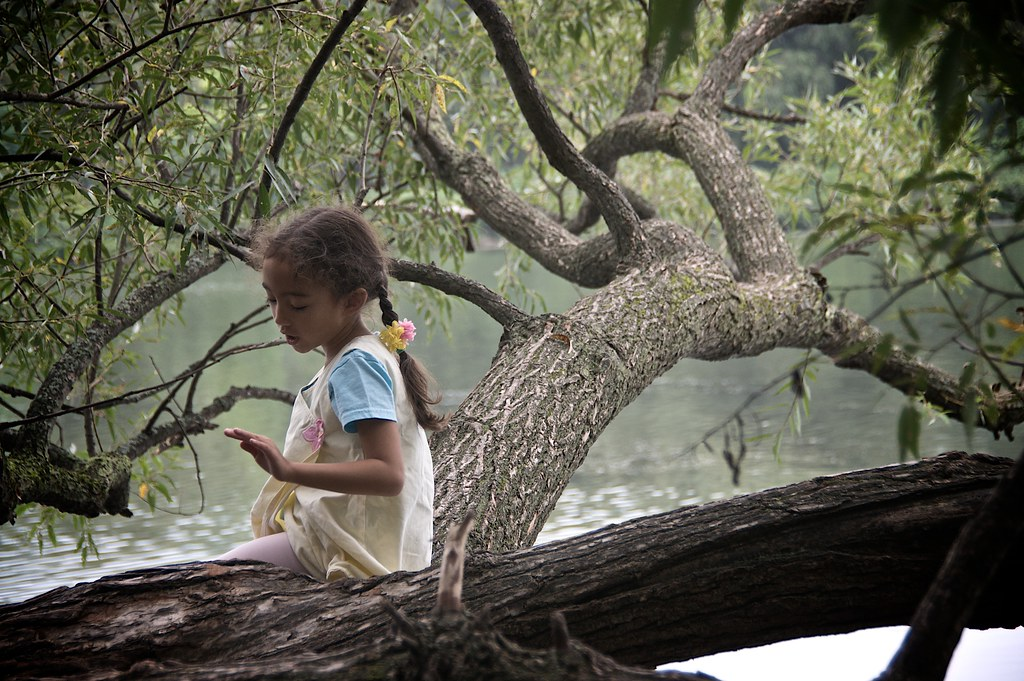 Child in Trees
