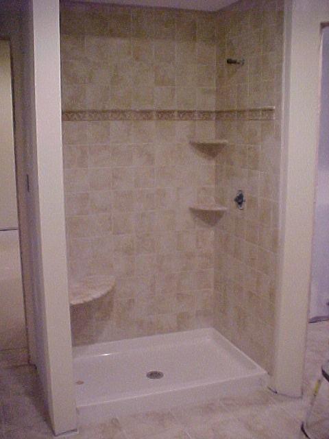 bathroom custom shower stall flickr photo