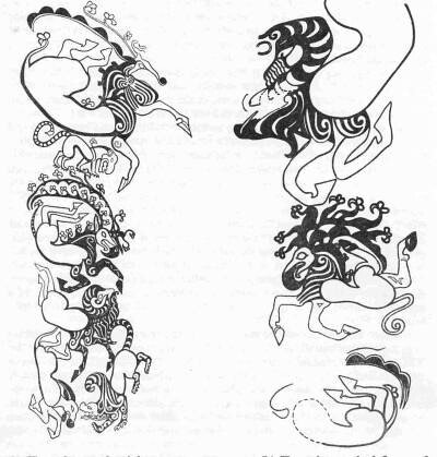 Scythian tattoos