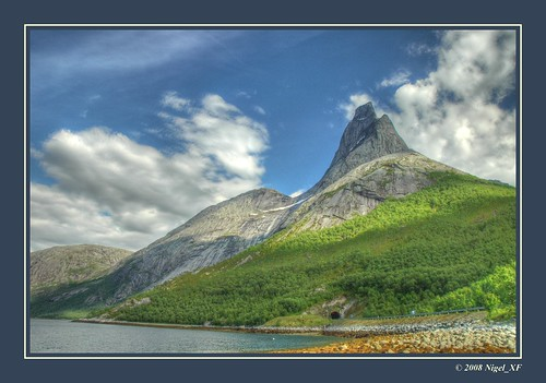 Mountain panorama ... Stetind, Lofoten