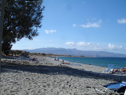 Maleme beach Crete
