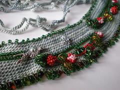 Legend ... Freeform Crochet Necklace