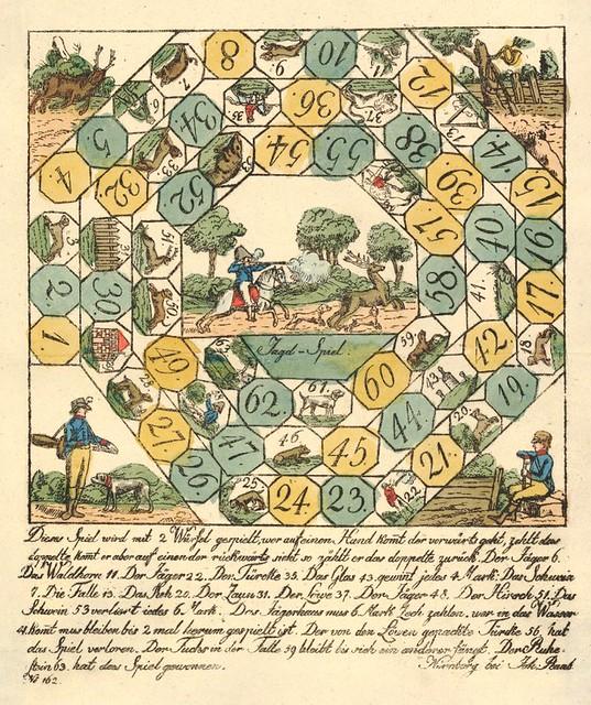 Jagd-Spiel (Game of the Hunt) (1790s)