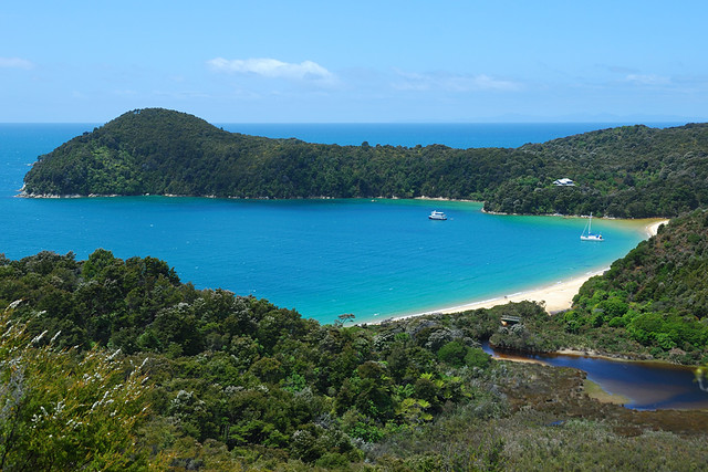 Tasman парк пляж