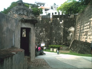 Image of Muralla de San Juan near San Juan. security
