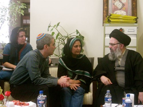 Meeting with Ayatollah