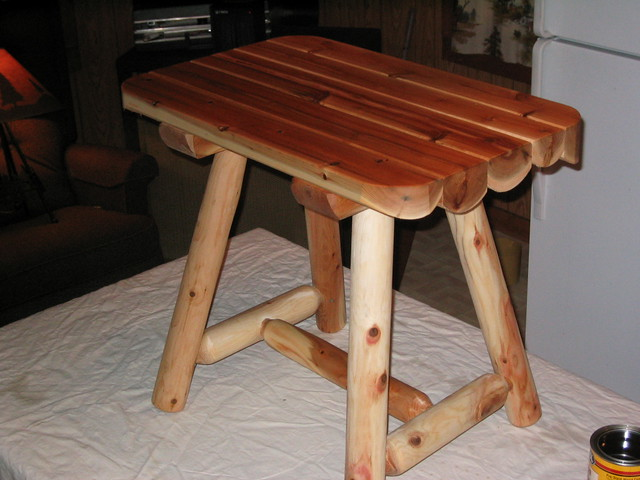 Rustic Accent Tables